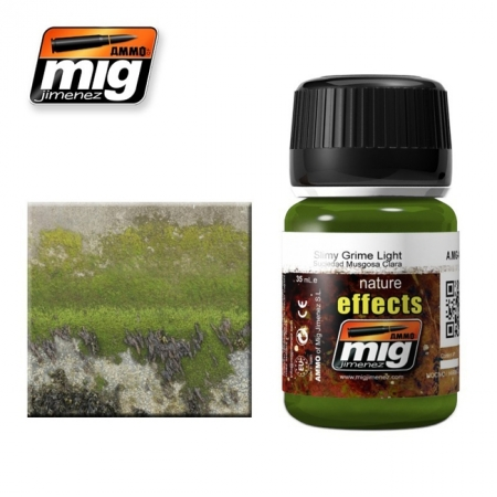Weathering эффект Ammo A.MIG-1411 Slimy Grime Light