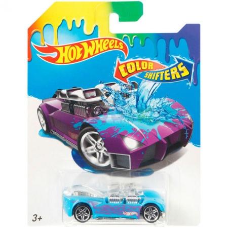 What-4-2, Машинка Измени цвет, Hot Wheels, Mattel, What-4-2, BHR15-17