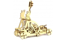 Wood Trick Катапульта - Механічна модель-конструктор з дерева