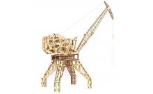 Wood Trick Кран - Механічна модель-конструктор з дерева