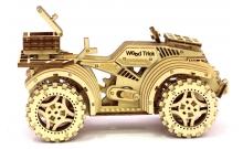 Wood Trick Квадроцикл - Механічна модель-конструктор з дерева