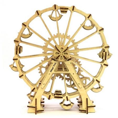 Wood Trick Оглядове колесо - Механічна модель-конструктор з дерева