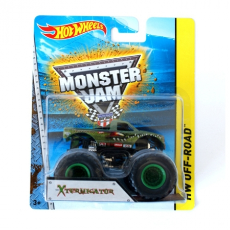 X-Termigator, Машина-внедорожник Monster Jam, Hot Wheels, Mattel, X-Termigator, BHP37-1