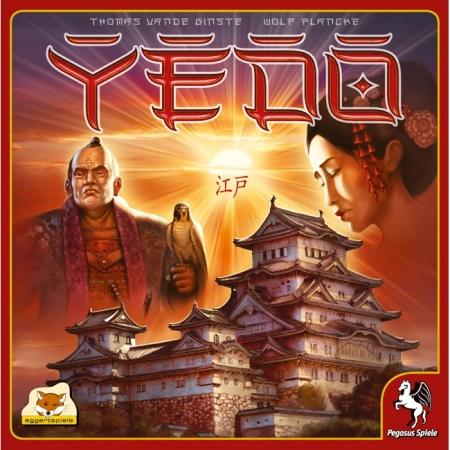 Yedo (Эдо) - Настольная игра