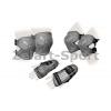 Защита спорт. наколенники, налокот., перчатки детская ZEL SK-4679GR-M LUX (р-р M-8-12лет, серая)