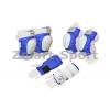 Защита спорт. наколенники, налокот., перчатки для взрослых ZEL SK-4680BL-S (р-р S, синий)