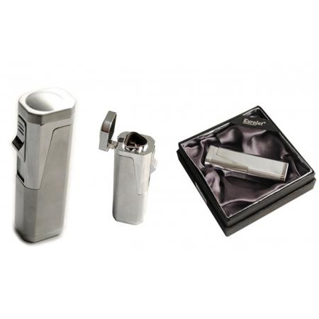 Зажигалка для сигар Eurojet, газ, турбо (25601)