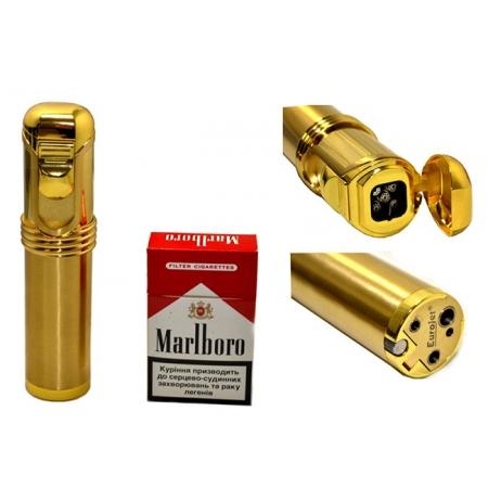 Зажигалка настольная для сигар Гигант, газ, пьезо (25620)