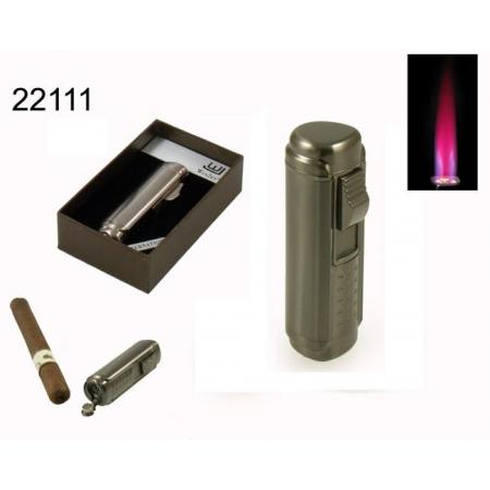 Зажигалка сигарная Eurojet, газ, турбо (22111)