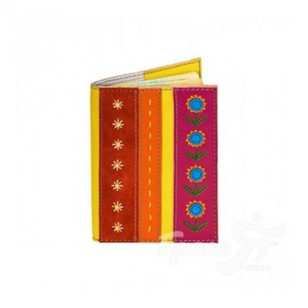 Женская кожаная обложка для паспорта от Елены Юдкевич UNIQUE U (ЮНИК Ю) U2508616 Unique U