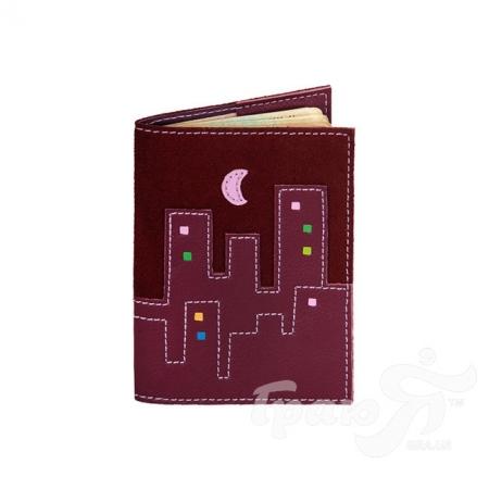 Женская кожаная обложка для паспорта от Елены Юдкевич UNIQUE U (ЮНИК Ю) U2509212