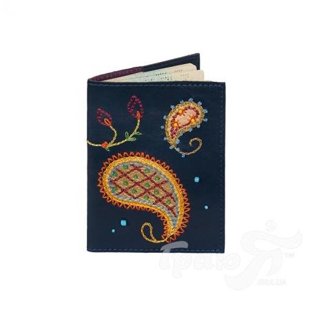 Женская кожаная обложка для паспорта от Елены Юдкевич UNIQUE U (ЮНИК Ю) U2533908