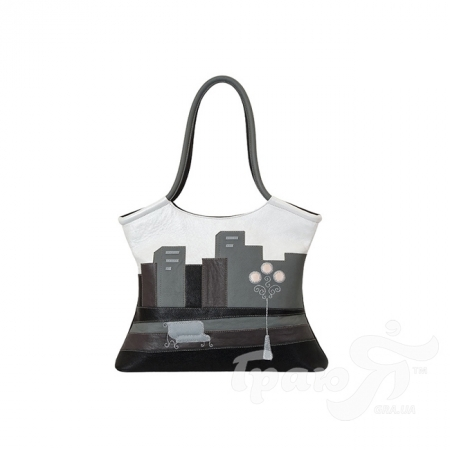 Женская кожаная сумка ручной работы от Елены Юдкевич UNIQUE U (ЮНИК Ю) U2236010