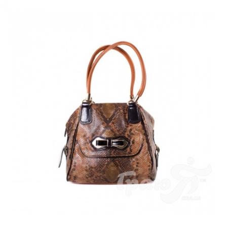 Женская сумка из качественного кожезаменителя RICHEZZA (РИЧЕЗЗА) W163-311-brown