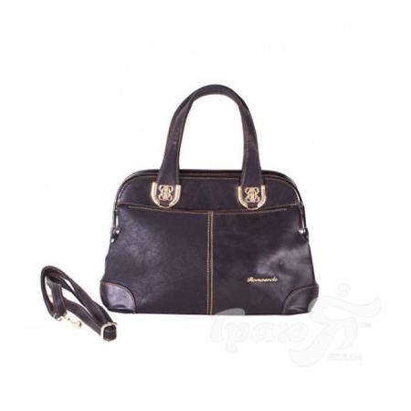 Женская сумка из качественного кожезаменителя RONAERDO (РОНАЭРДО) BAL1072-black