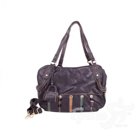 Женская сумка из качественного кожезаменителя RONAERDO (РОНАЭРДО) BAL21183-black