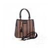 Женская сумка из качественного кожезаменителя RONAERDO (РОНАЭРДО) BAL6556-black