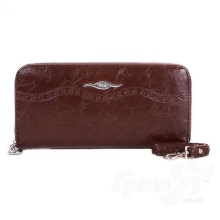 Женский кошелек из качественного кожезаменителя BALISA (БАЛИСА) MISS17479-brown