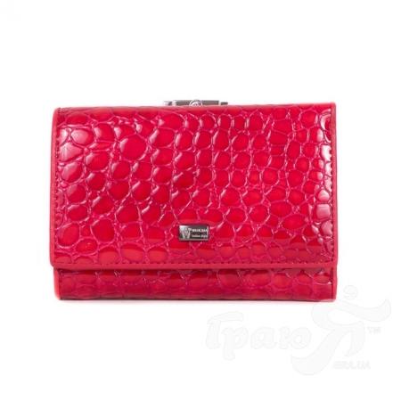 Женский кожаный кошелек WANLIMA (ВАНЛИМА) W11044690430-red
