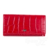 Женский кожаный кошелек WANLIMA (ВАНЛИМА) W12046740014-red