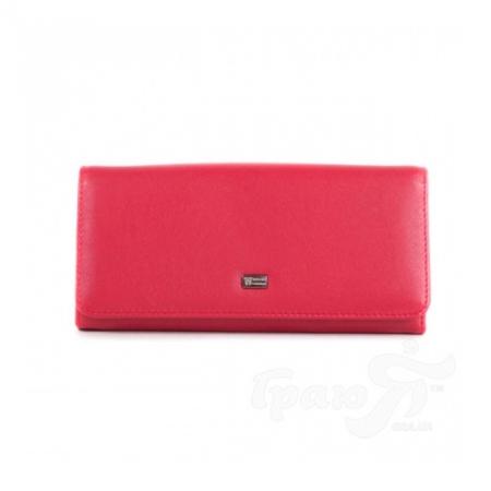 Женский кожаный кошелек WANLIMA (ВАНЛИМА) W50044076-red