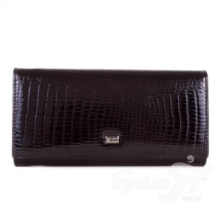 Женский кожаный кошелек WANLIMA (ВАНЛИМА) W62041170014-black