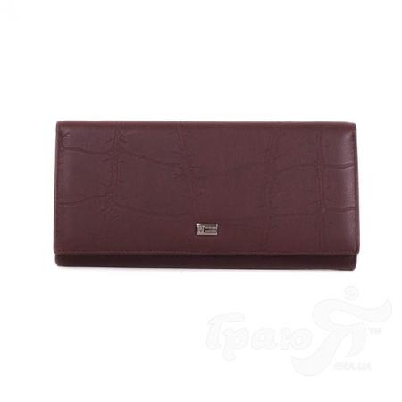 Женский кожаный кошелек WANLIMA (ВАНЛИМА) W72042410013-coffee