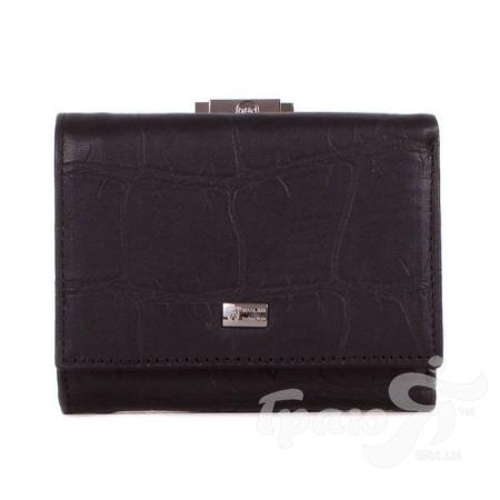 Женский кожаный кошелек WANLIMA (ВАНЛИМА) W72042410015-black