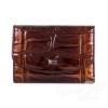 Женский кожаный кошелек WANLIMA (ВАНЛИМА) W81042340473-light-coffee