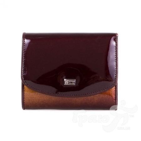Женский кожаный кошелек WANLIMA (ВАНЛИМА) W81042580016-coffee