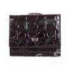 Женский кожаный кошелек WANLIMA (ВАНЛИМА) W82043180840-black
