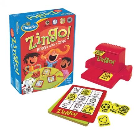 Зинго - игра сортер, ThinkFun Zingo (на англ. языке)