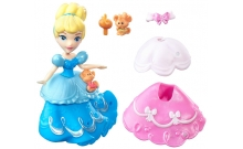 Золушка с модным платьем, Маленькое королевство, Disney Princess Hasbro, B7158 (В5327-2)