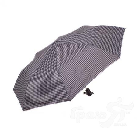 Зонт мужской автомат RAINY DAYS (РЕЙНИ ДЕЙС) U76868-grey-kletka