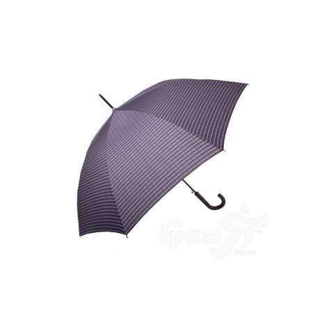 Зонт-трость мужской полуавтомат DOPPLER (ДОППЛЕР), коллекция DERBY (ДЭРБИ) DOP77267P-3 Doppler