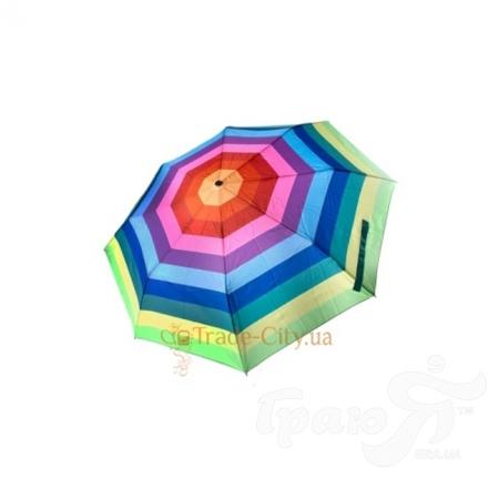 Зонт женский FLASH (ФЛЕШ) U72272-green-polosa Flash