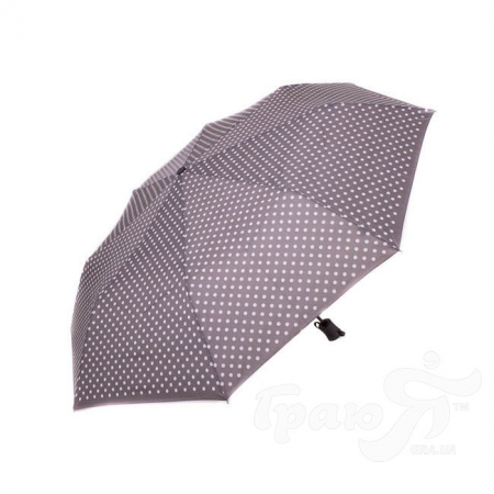 Зонт женский полуавтомат FLASH (ФЛЕШ) U72271-grey-gopoh-n