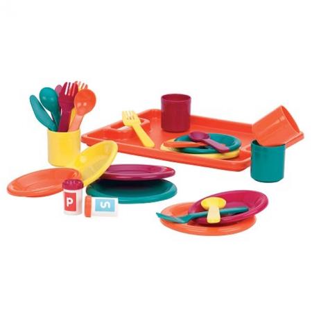 Званый ужин, игровой набор (27 предметов, на 4 персони), Battat (BT2428Z)