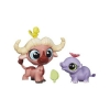 Зверюшка и малыш Walker Ruffalo и Hipolito Garsia, Littlest Pet Shop, Hasbro, Walker Ruffalo + Hipolito Garsia, A7313-11